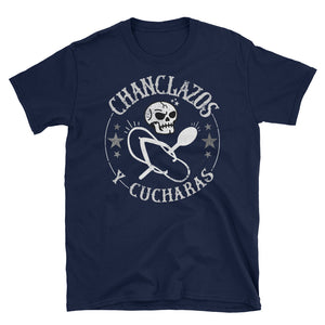 Chanclazos y Cucharas Vintage Greaser T-Shirt