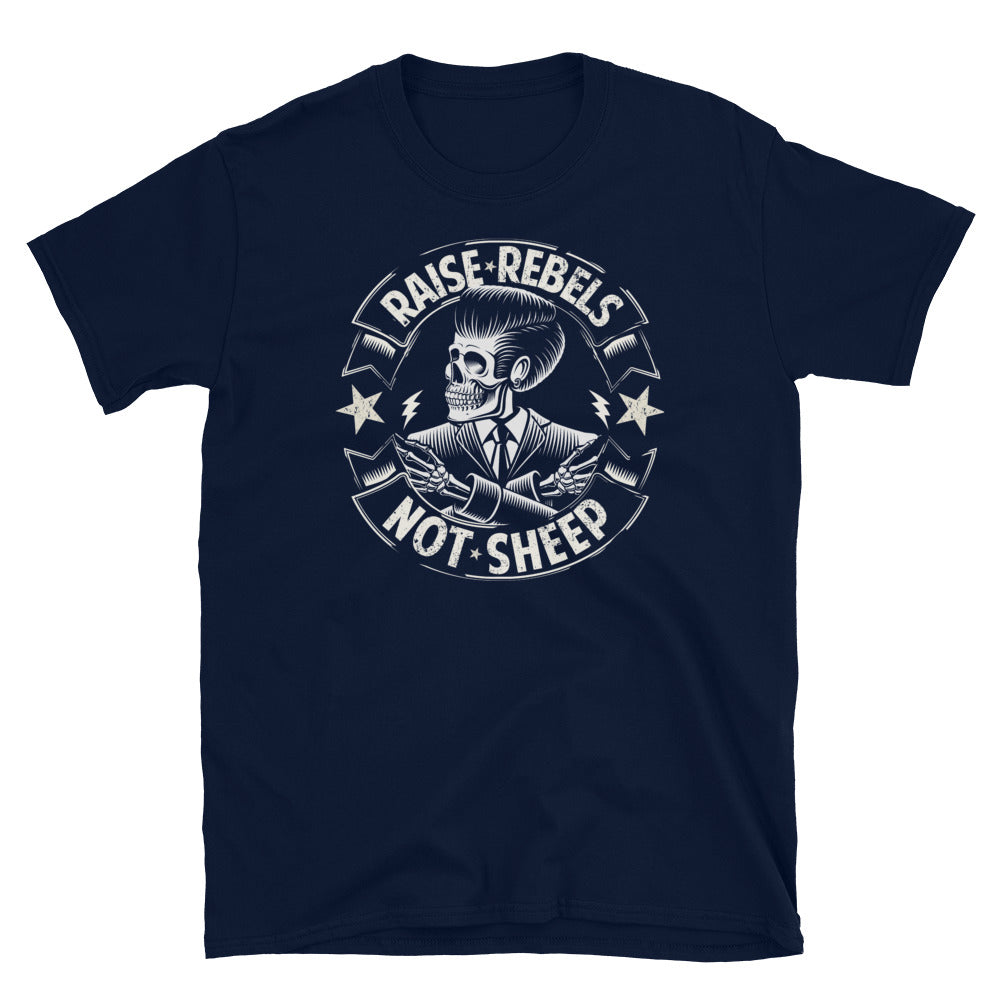Raise Rebels Not Sheep Vintage Chingon T-Shirt