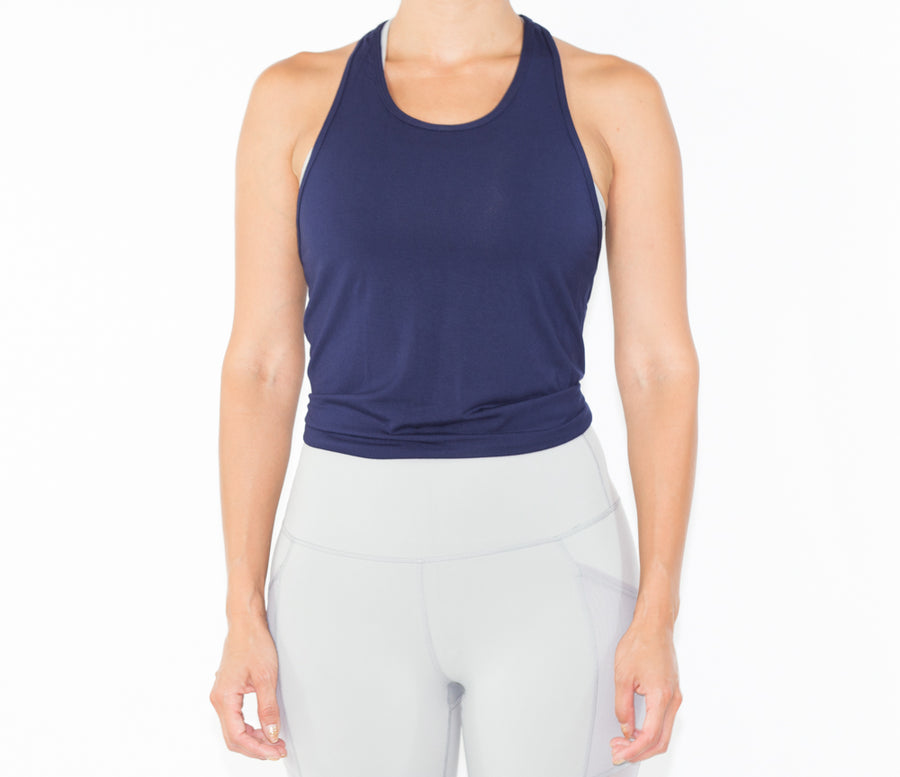 Women's Lively Top - Navy