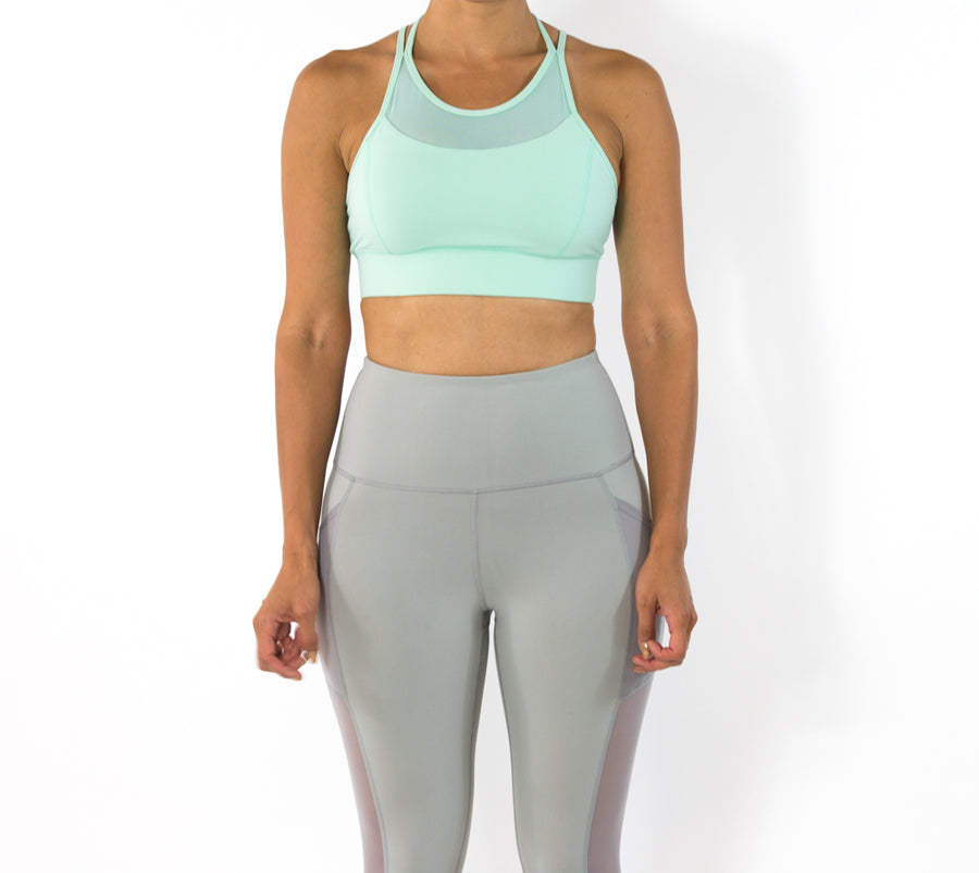 Women's Vibrant Sports bra - Mint
