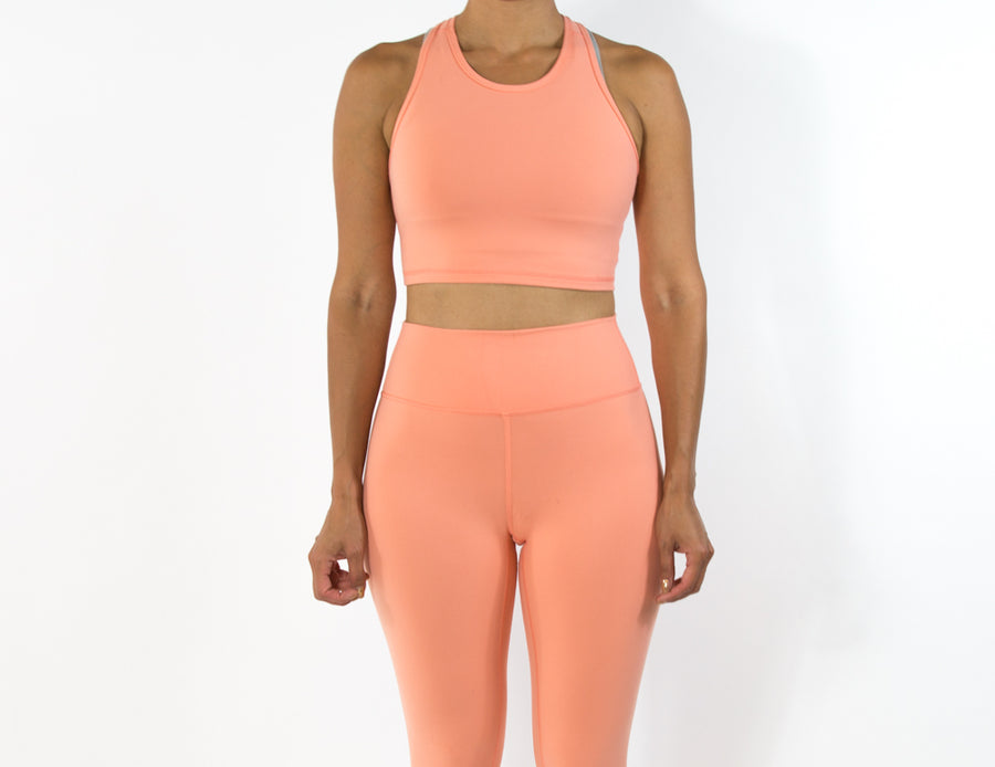 Women's Vivid Top - Coral Peach