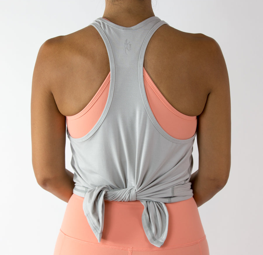 Women's Lively Top - Light Grey