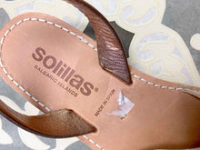 Load image into Gallery viewer, Rose Gold Fringe Suede Solillas Sandals - Size 7