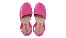 Load image into Gallery viewer, Pink Nubuck Solillas Sandals - Size 10