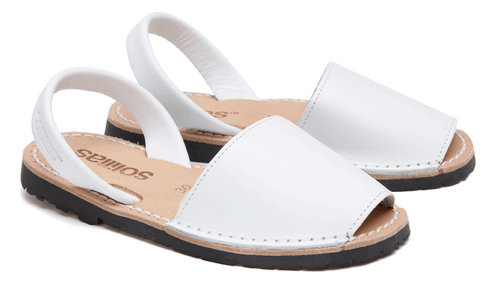 Children's White Leather - Various Sizes