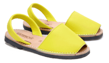 Load image into Gallery viewer, Children's Yellow Leather - Various Sizes