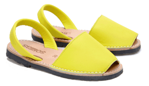 Children's Yellow Leather - Various Sizes