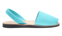Load image into Gallery viewer, Turquoise Nubuck Solillas Sandals - Size 9