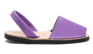 Children's Purple Leather - Various Sizes