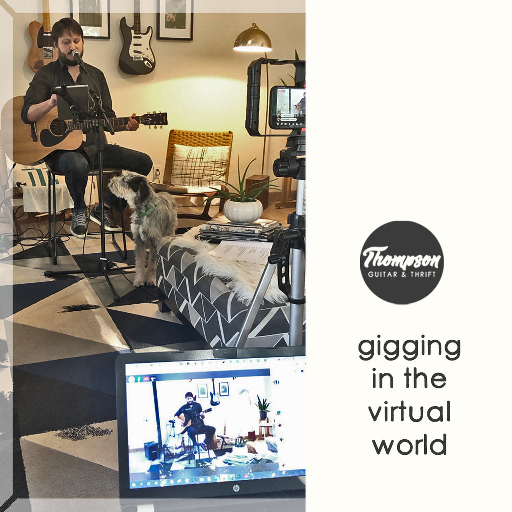 Facebook Live: Gigging in the Virtual World