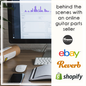 Behind the Scenes of Online Selling: Platform Review - eBay, Reverb & Shopify