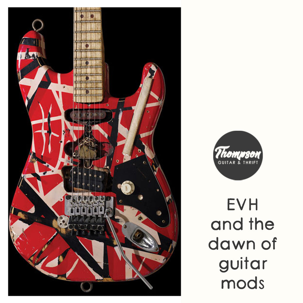 Eddie Van Halen and the Dawn of DIY Guitar Modding