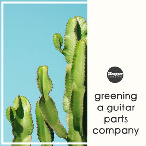 Greening an Online Guitar Parts Company