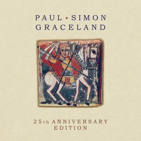 Paul Simon Graceland album cover