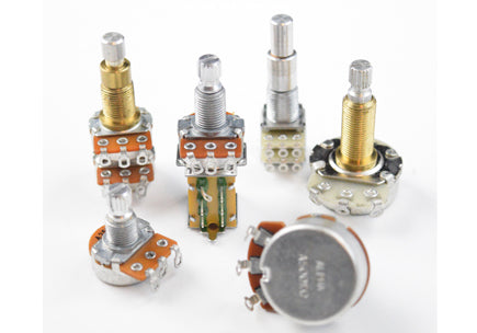 Assorted potentiometers