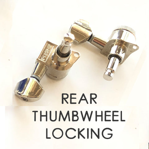 Rear Thumbwheel Locking Tuner