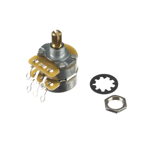 Fender Dual CTS Pot 500K/250K Split Shaft Concentric Potentiometer