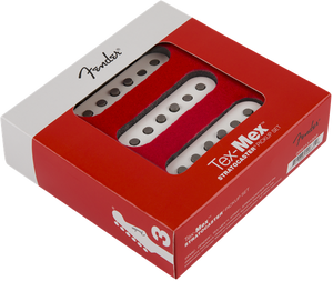 Fender Tex-Mex Strat Pickups Set White