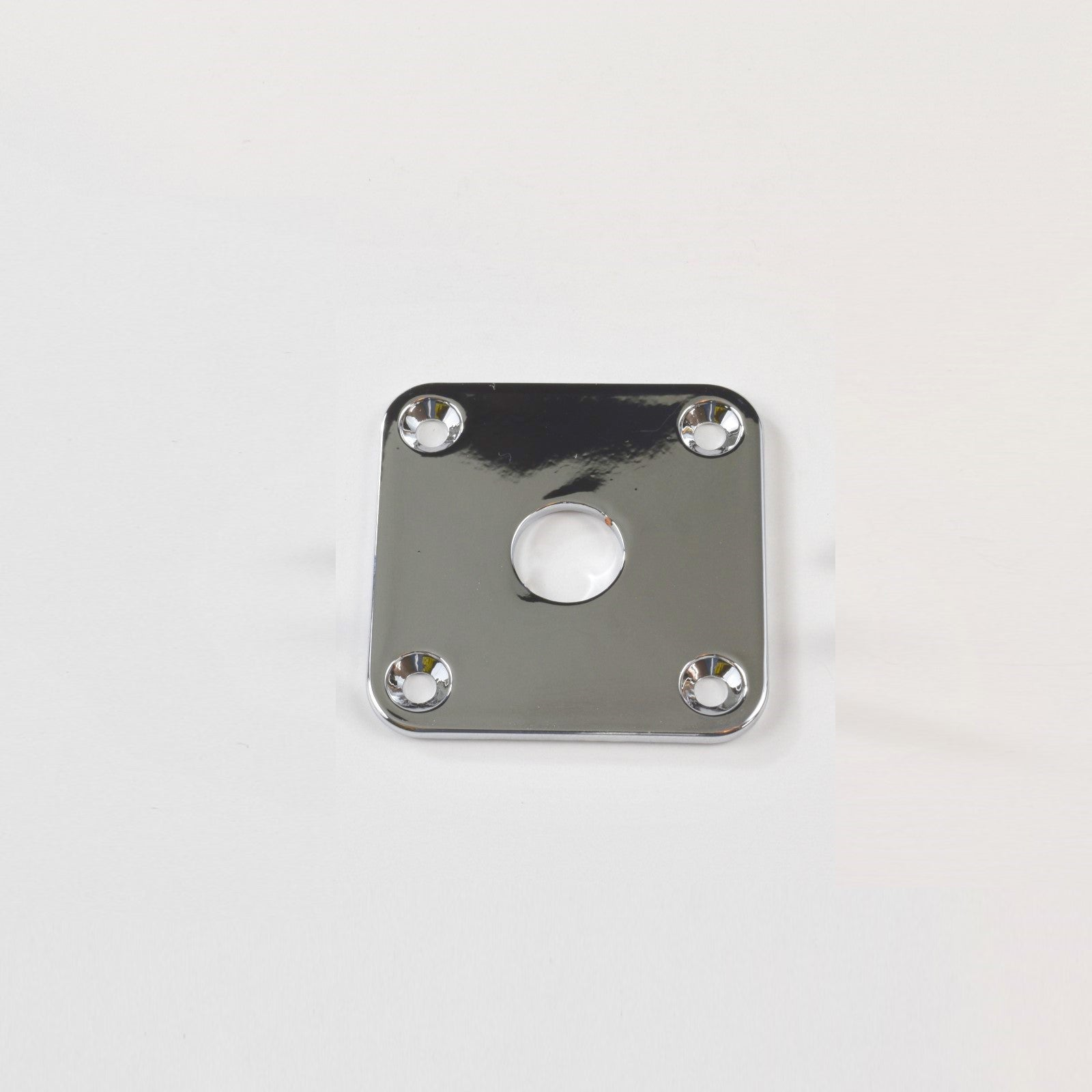 Chrome Jack Plate Flat Square Body Mount (Blemished)