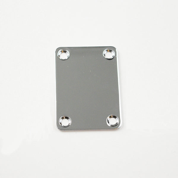 Chrome Neck Plate for Bass (Blemished)