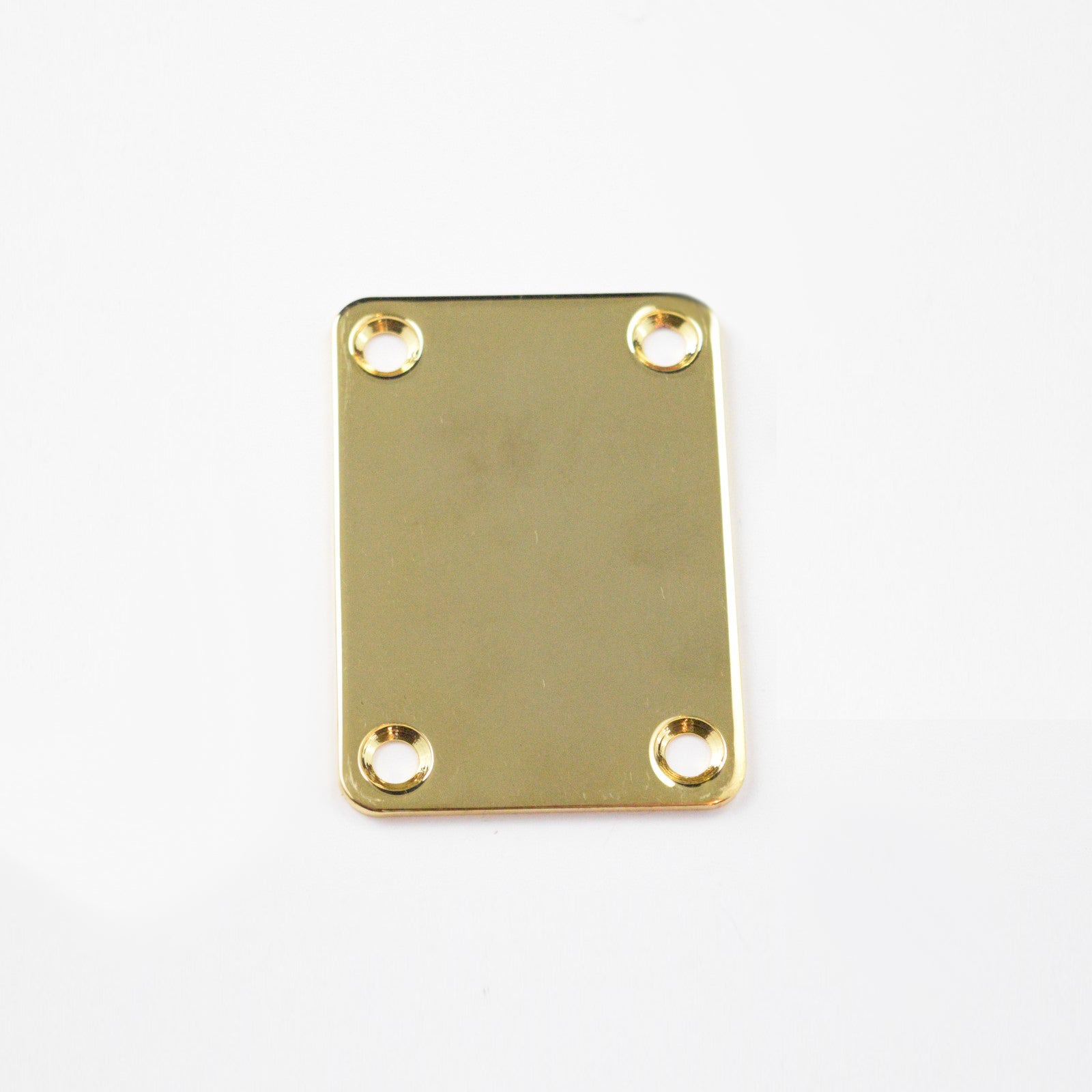 Gold Neck Plate for Bass (Blemished)