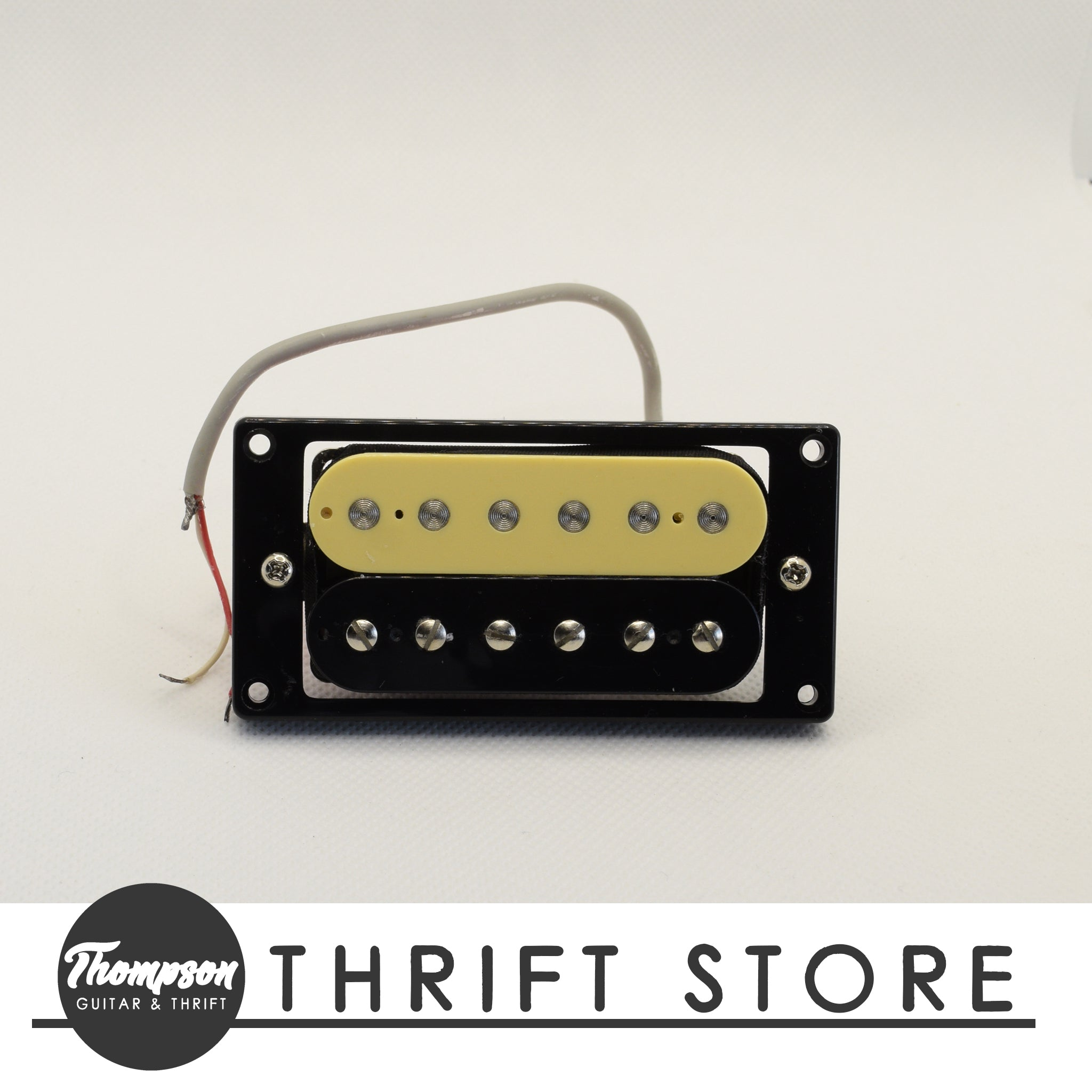 NOS Zebra Humbucker Bridge ~12k
