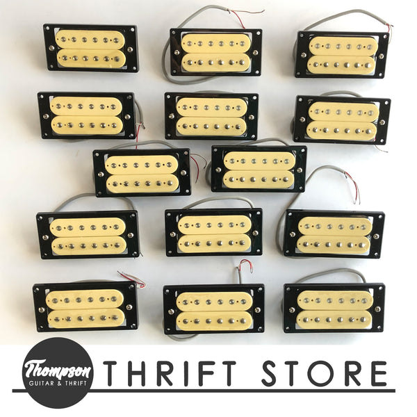 NOS Cream Humbucker Bridge ~12k