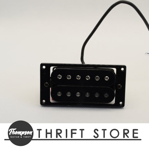 NOS Black Humbucker Neck ~7k