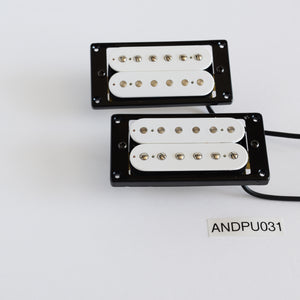 White Humbucker Set Neck and Bridge (NOS)