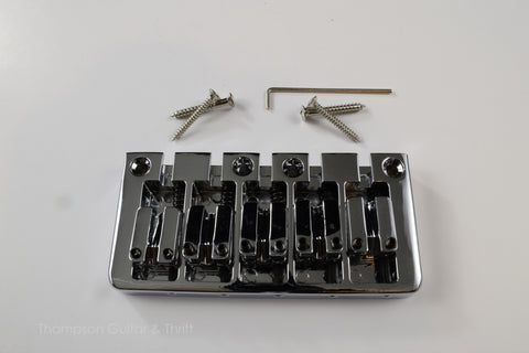 5 String Chrome Bass Bridge