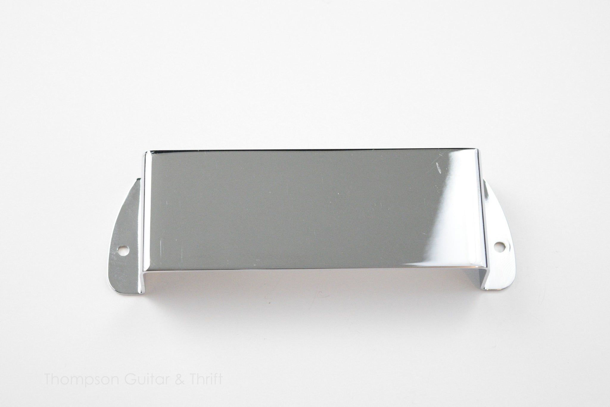 Chrome Bass Bridge Ashtray Pickup Cover fits EB Bass