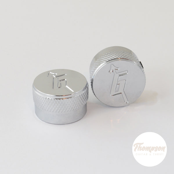 G-style Knobs Chrome fits Gretsch