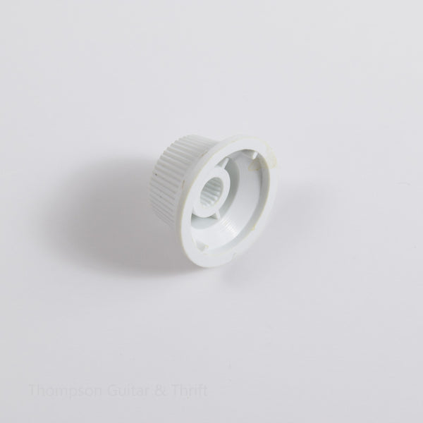 Single White Strat Replacement Knob Volume