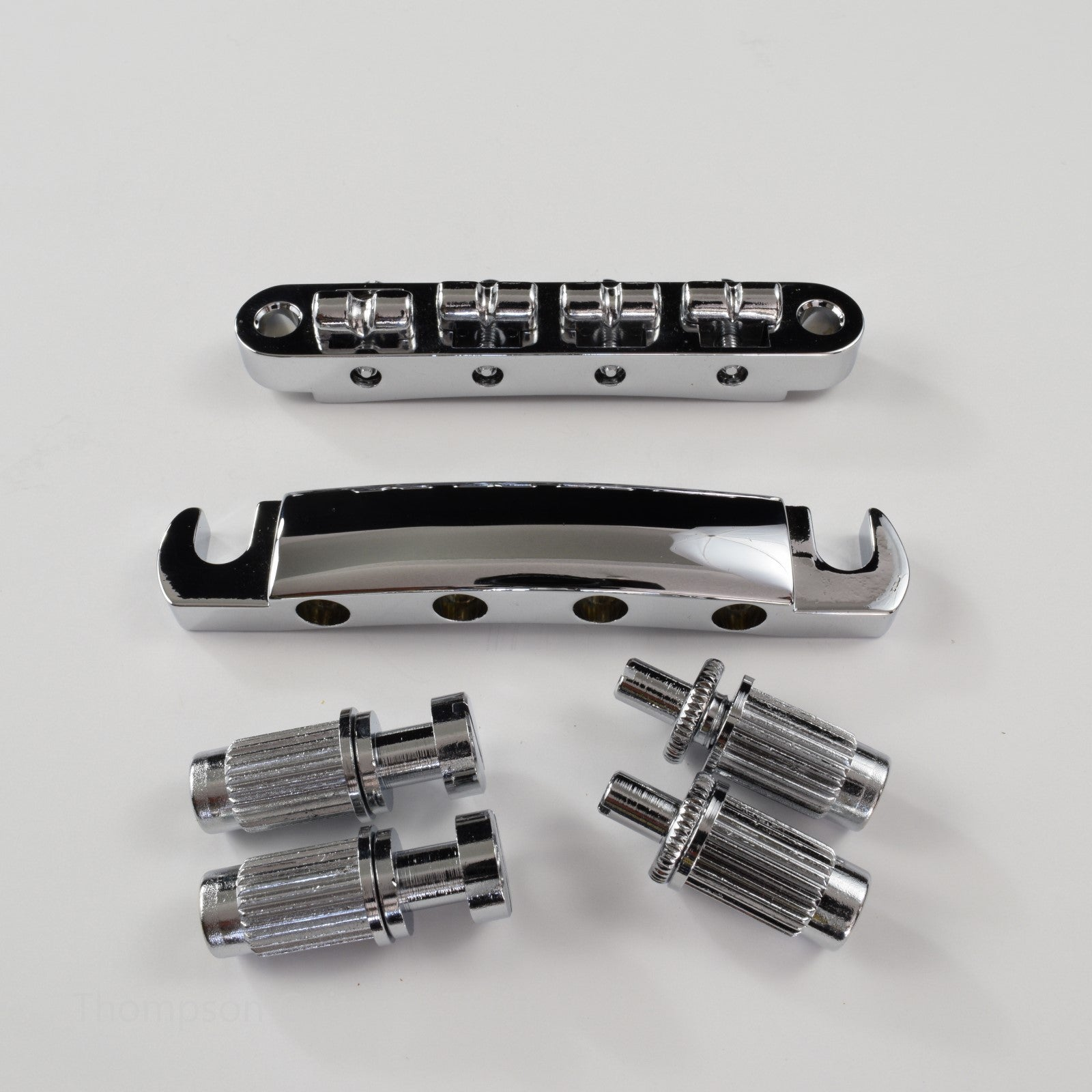 Set of Bass Tune-O-Matic Bridge and Stop Tailpiece