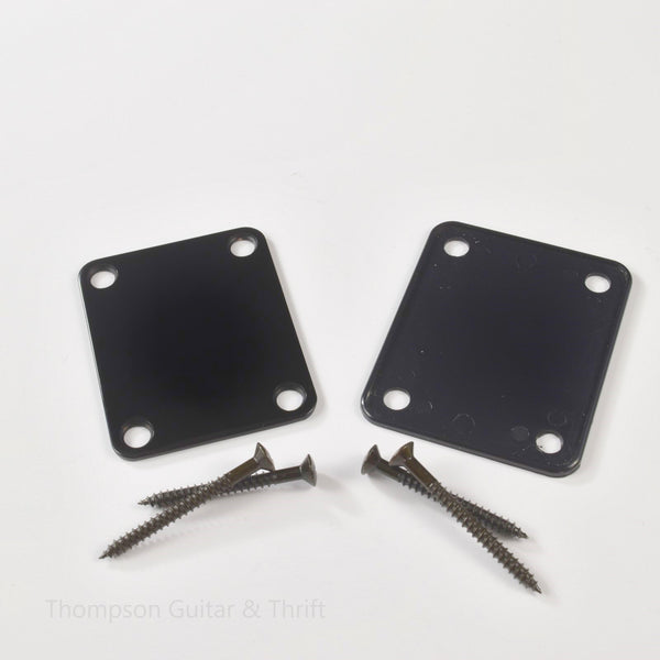 Black Neck Plate, Gasket and Screws
