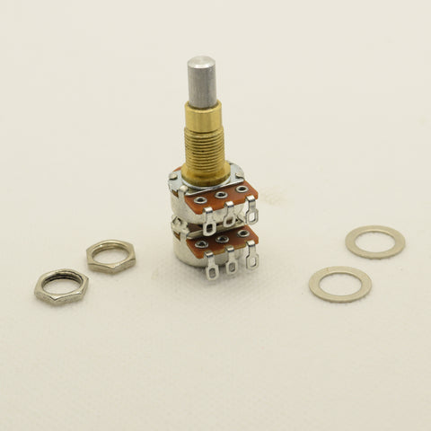 Alpha Potentiometer 1 Meg A Concentric Stacked Dime Size Audio Pot