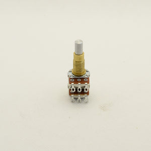 Alpha Potentiometer A500K Concentric Stacked Dime Size Pot