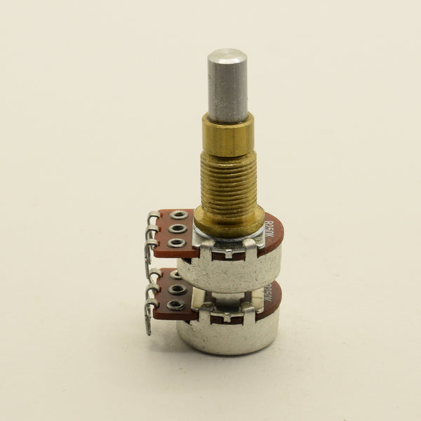 Alpha Potentiometer B250K Concentric Stacked Dime Size Pot