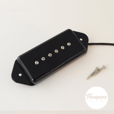 Chainbreaker Dog-Ear P90 Top Ferrite Single Coil Pickup Black