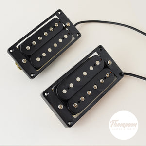 New Blues Alnico V Black Humbucker 4-Wire Pickup Neck and Bridge
