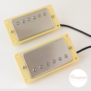 New Blues Hot Alnico V Antique Nickel Humbucker Pickup Neck and Bridge