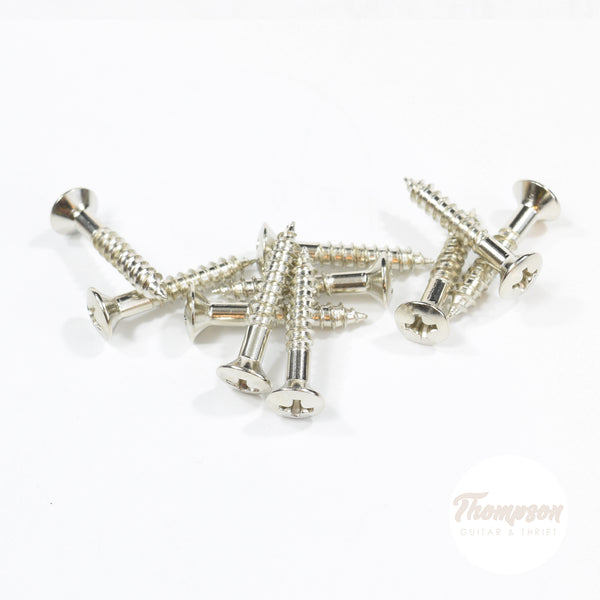 Nickel Steel Bridge and Amp Handle Screws 4mm x 25mm