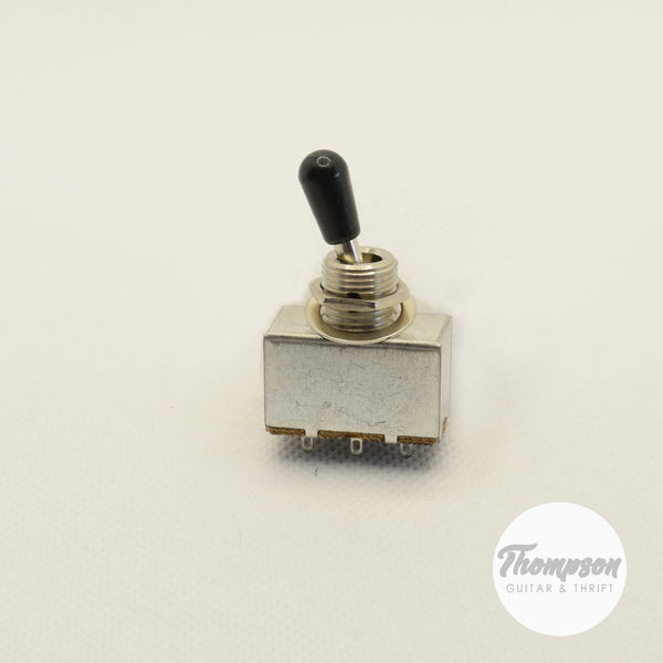 3-Way Box Toggle switch chrome with removable black tip