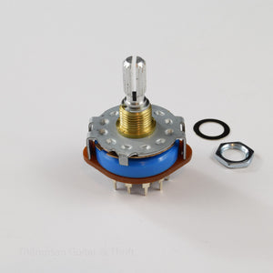 5-Way 12 Pin Rotary Switch for Pickguard Mount