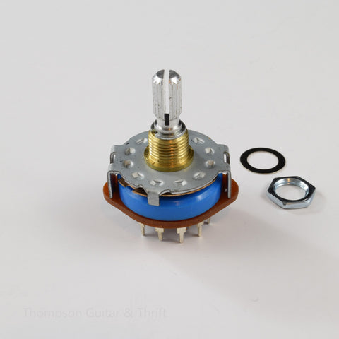 5-Way Rotary Switch for Pickguard Mount