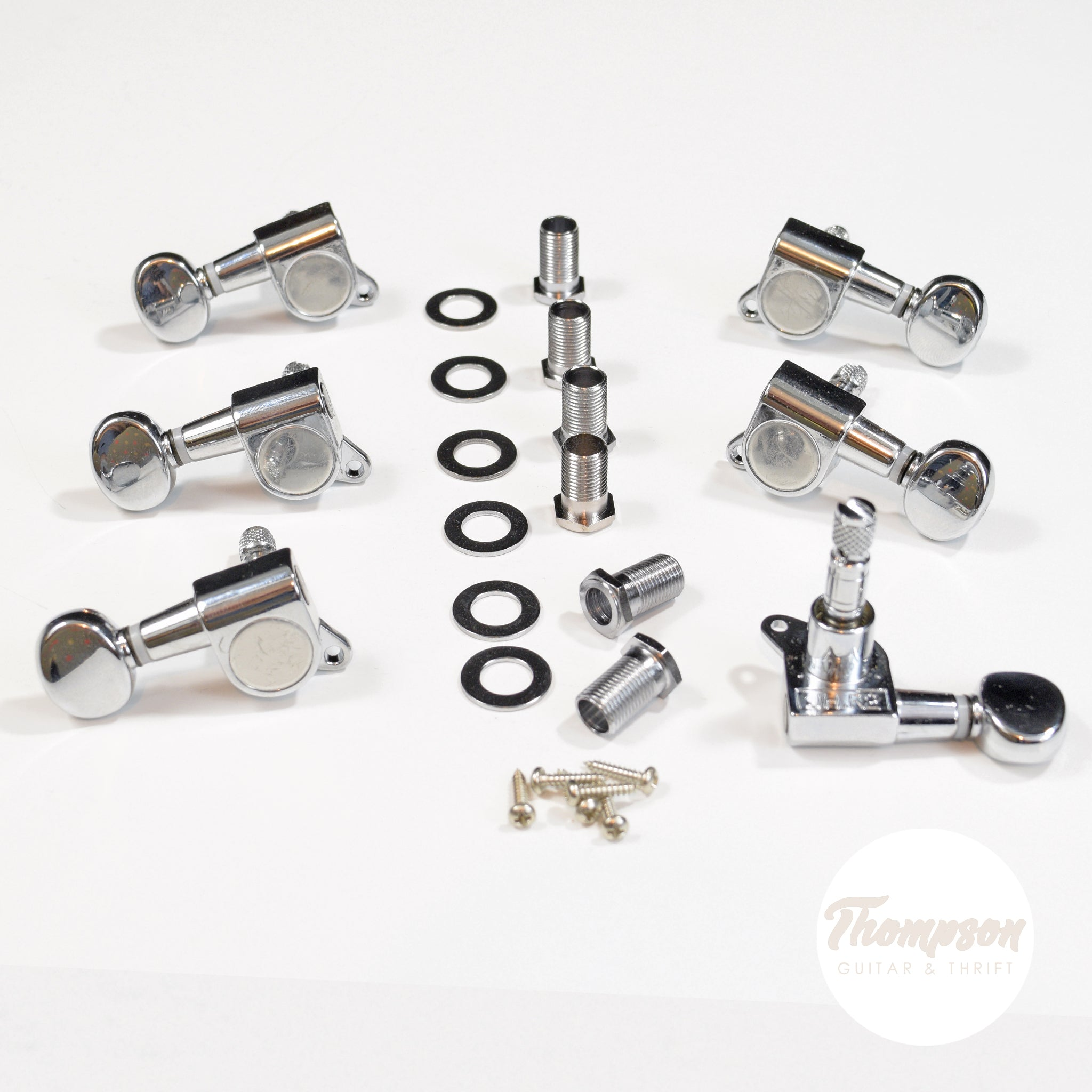 3x3 Chrome Proline Self Locking Tuners Set of 6