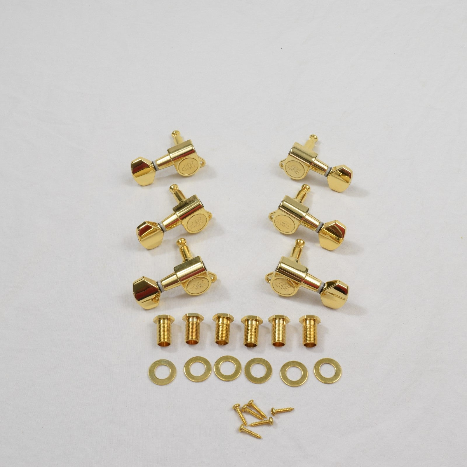 Gold 3x3 Wilkinson Standard Tuners Set of 6