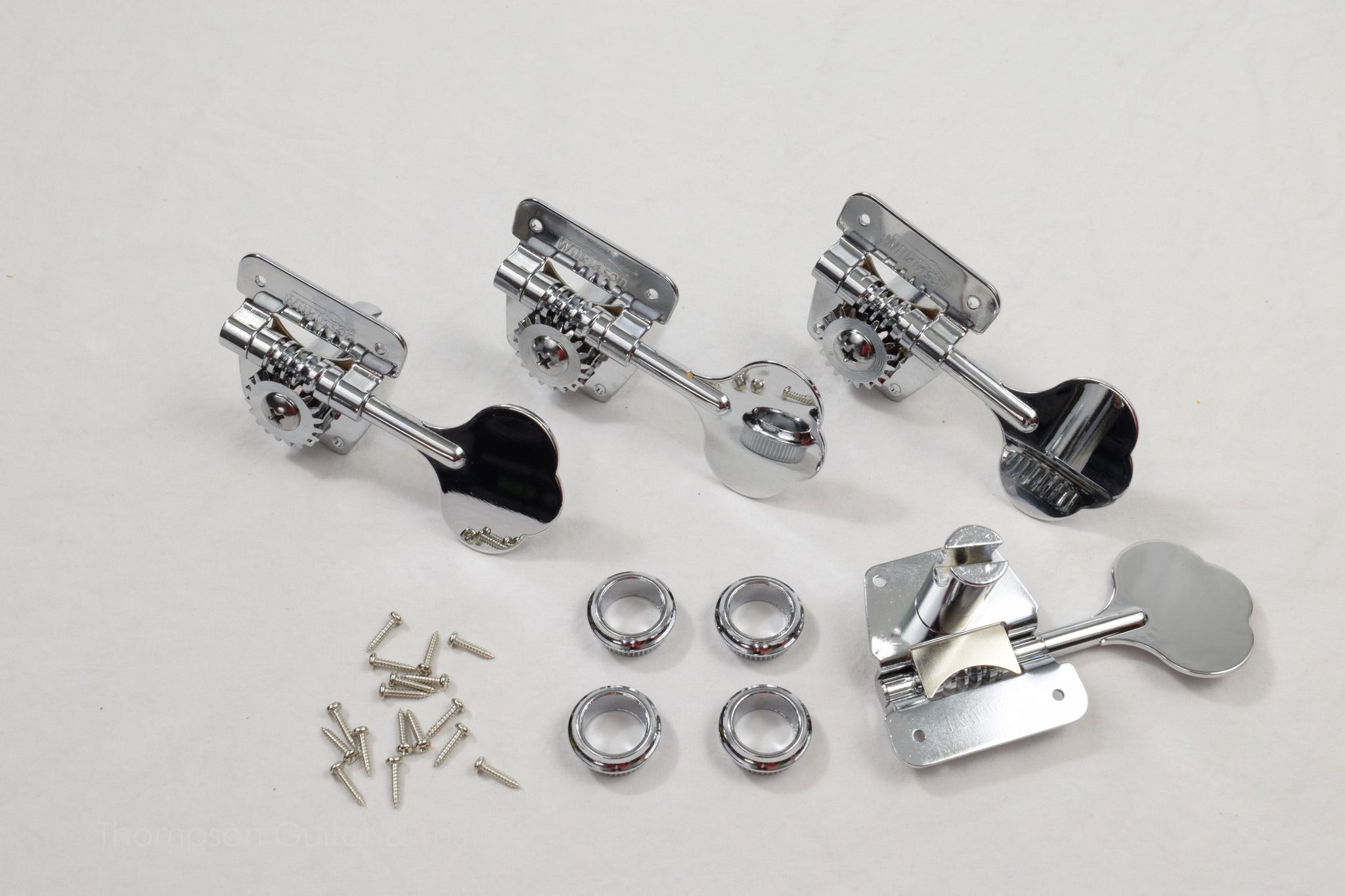 4 in line Chrome Wilkinson Bass Tuners