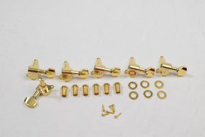 Gold 6 in line Wilkinson Standard Tuners Set of 6