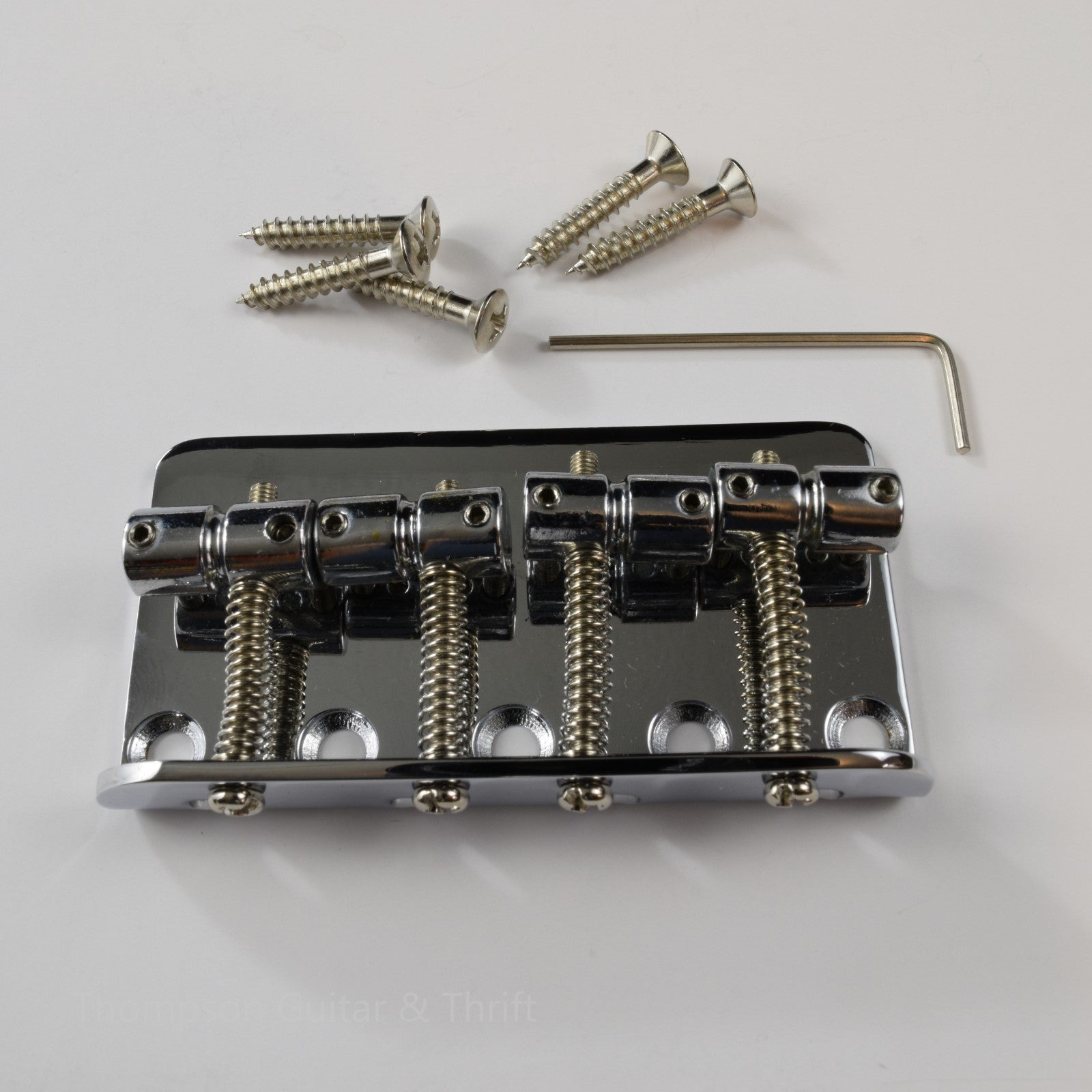 Standard Bass Bridge in Chrome, Black and Gold